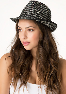 bebe Mixed Media Trilby