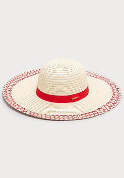 bebe Stitched Edge Floppy Hat