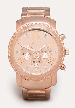 Textured Bezel Watch at bebe