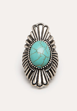bebe Stone Cocktail Ring