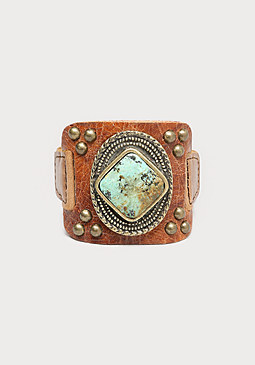 bebe Turquoise Stone Bracelet