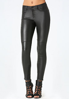 Strutter Leather Jeans