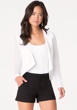 bebe Asymmetric Jacket