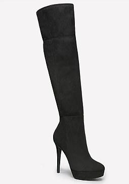 bebe Yasmin Stretch Boots
