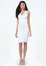bebe Tiana Paneled Dress