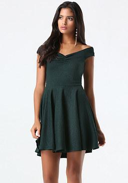 bebe Petite Sweetheart Dress