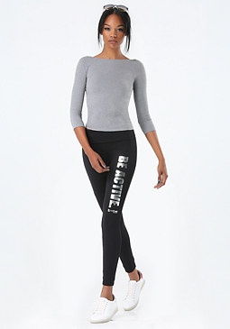"bebe ""Be Active"" Leggings"