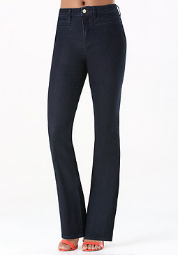 bebe Welt Pocket Flared Jeans