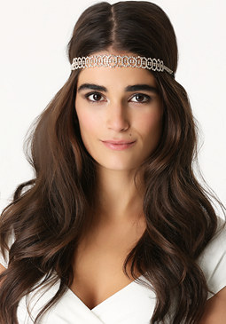 bebe Crystal Circles Headband