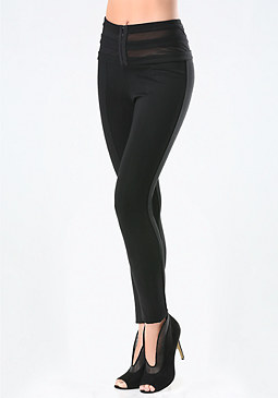 bebe Hook & Eye Leggings
