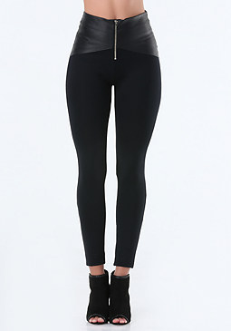 bebe Wrap Waist Leggings