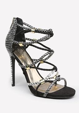 bebe Sandrra Rope Sandals