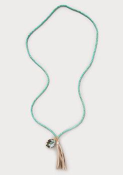 bebe Howlite Bead Necklace