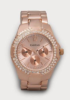 bebe Bracelet Link Watch