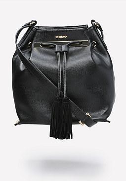bebe Babette Bucket Bag