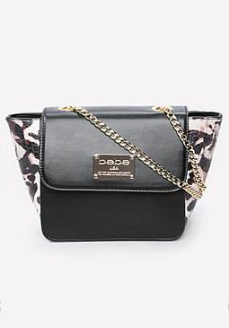 bebe Mock Croc Crossbody Bag