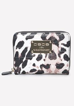 bebe Mock Croc Wallet