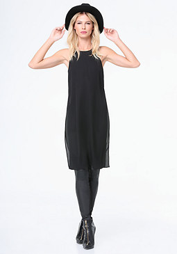 bebe Lily Side Slit Tunic