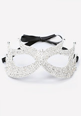 bebe Small Crystal Mask