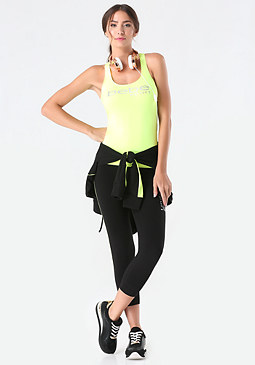 bebe Racerback Workout Tank