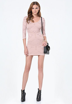 bebe Sandy Lace Dress
