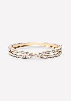 Crystal Crossover Bracelet