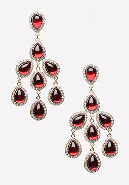 bebe Chandelier Drop Earrings