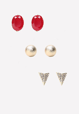 bebe Mix Stud Earring Set