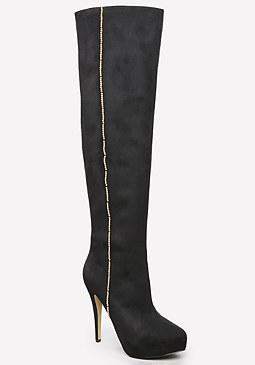 bebe Rinaa Tall Boots