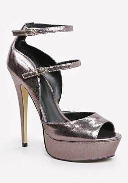bebe Allice Platform Sandals