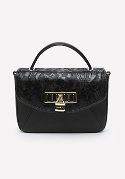bebe Vergara Lace Crossbody Bag