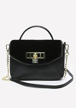 bebe Vergara Mix Crossbody Bag