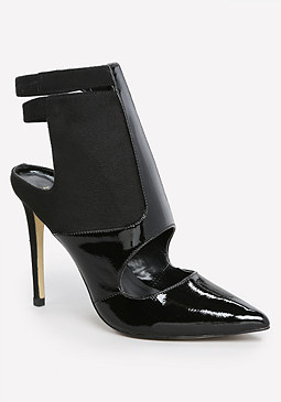bebe Geneen Cutout Pointy Pumps