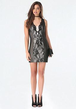 bebe Andie Lingerie Dress