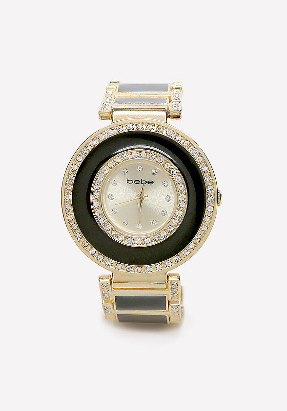 Enamel & Crystal Watch