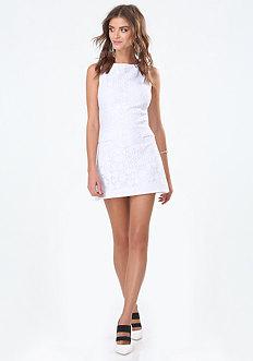 Judy Mesh Lace Dress