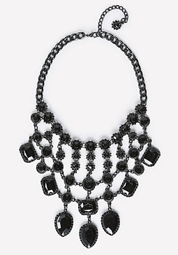 bebe Tonal Bib Necklace