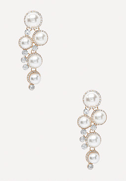 bebe Pearlescent Earrings