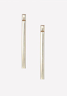 bebe Stacked Bar Earrings