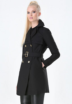 bebe Jina Classic Trench Coat