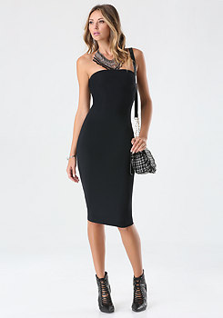 bebe Petite Strapless Dress