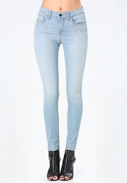 bebe Oceanic Skinny Jeans