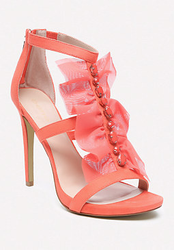 bebe Gladyssa Chiffon Sandals