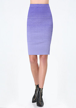 bebe Nora Gradient Sweater Skirt