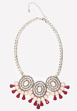 bebe Triple Station Necklace