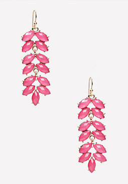 bebe Petal Drop Earrings