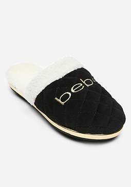 bebe Logo Sweet Dreams Slippers