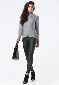 bebe Turtleneck Sweater