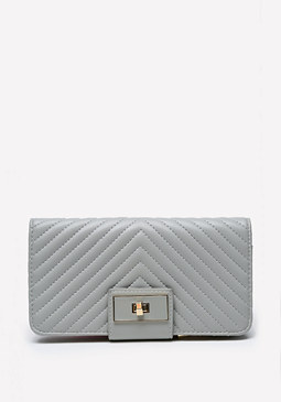 bebe Misha Quilted Wallet