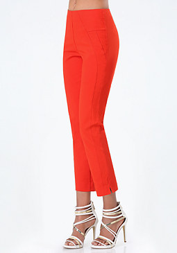 Josie Skinny Crop Pants at bebe